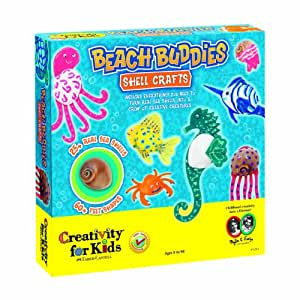 Creativitiy for Kids - Beach Buddies Shell Crafts - Educational Toys