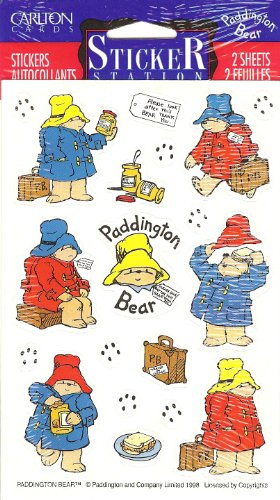 Paddington Bear Scrapbook Stickers
