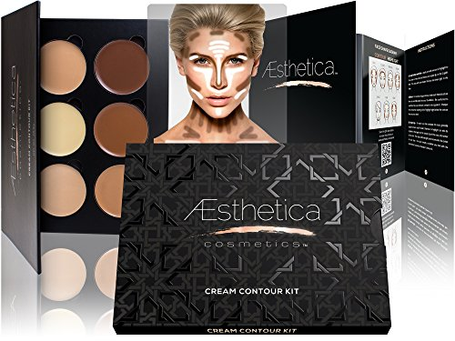 Aesthetica Cosmetics Cream Contour and Highlighting