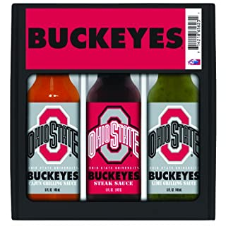 OHIO STATE Buckeyes Mini Grilling Set 3x5 oz