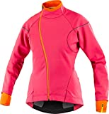Mavic Ksyrium Elite Thermo Damen Winter Fahrrad Softshell Jacke rot