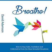 Breathe: How to Stay Calm, Confident and Collected in Even the Most Stressful Situations Audiobook by David Adamson Narrated by Justin Levens
