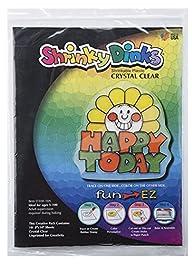 Shrinky Dinks Crystal Clear 10 Sheet…
