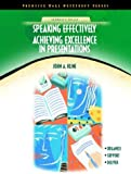 img - for Speaking Effectively: Achieving Excellence in Presentations (NetEffect Series) book / textbook / text book
