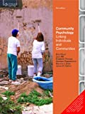 img - for Community Psychology : Linking Individuals and Communities (English) 3rd Edition book / textbook / text book