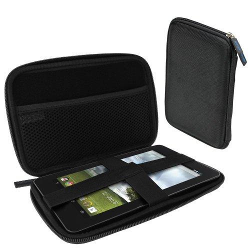 """igadgitz Schwarz EVA Hartschalentasche Hardcase Etui Schutzhülle Tasche Case Hülle für Asus Fonepad ME371MG 7"""" 3G Wi-fi Android Tablet 16GB 32GB & Asus MeMo Pad ME172V 7"""" 3G Wi-Fi Android Tablet 16GB 32GB"""