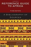 img - for Reference Guide to Africa: A Bibliography of Sources by Alfred Kagan (2014-10-16) book / textbook / text book