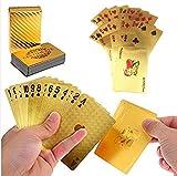 KM-WEN® 2015 Fashion Luxuriöse Gold überzogenes Poker Spielkarten