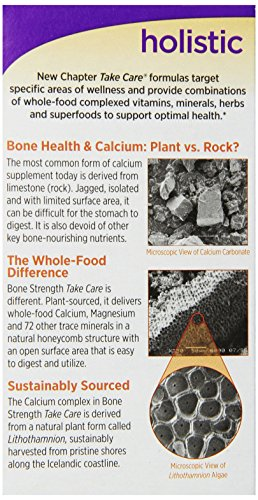 New Chapter 新章维骨力 有机植物钙骨骼强健配方 120粒图片