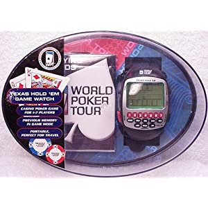 Texas Hold 'em Game Watch with Official World Poker Tour Playing Cards