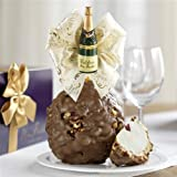 Celebrate Jumbo Caramel Apple Gift - Milk Chocolate Walnut Pecan