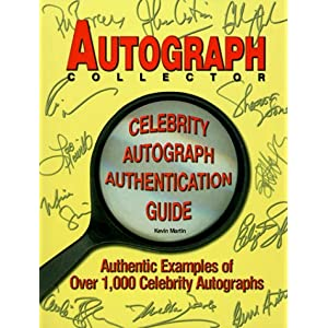 Autograph Celebrity Cookbook – Cookbook Village
