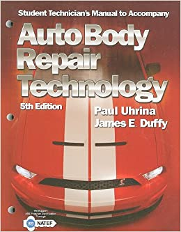 Tech manual for duffy 39 s auto body repair technology 5th for Motor vehicle body repair