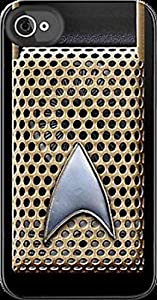 STAR TREK COMMUNICATOR themed REAR COVER / REAR CASE for Apple iPhone 6, 6 Plus, 5, 5S, 5C, 4, 4S + iPod Touch 5 & 4 + Samsung Galaxy S6, S6 Edge, S5, S5 Mini, S4, S4 Mini, S3, S3 Mini, S2 (select model required from the options in the 'size' menu) A grea