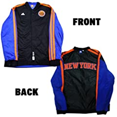 Carmelo Anthony Jacket - NY Knicks 2013 Preseason Game Used #7 Reversible Black and... by Steiner Sports
