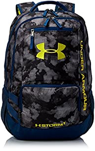 Under Armour Hustle II Backpack, Stee…