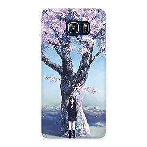 Premier Cherry Blossom Multicolor Back Case Cover for Galaxy Note 5