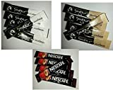 Coffee Pack: 100 Nescafe Original sachets & 100 Individual White Sugar Sachets & 100 Brown Sugar Individual Sachets (total of 300 sachets)