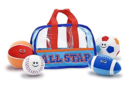 Melissa & Doug Sports Bag Fill and Spill Baby and Toddler Toy