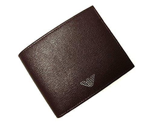 (エンポリオアルマーニ)EMPORIO ARMANI  二つ折財布(ボルドー) YEM122 YA24E 80019 A-1816 [並行輸入品]