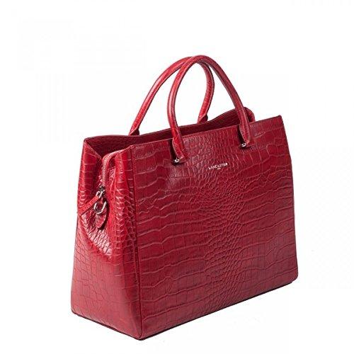 lancaster-cabas-exotic-croco-526-80-rouge