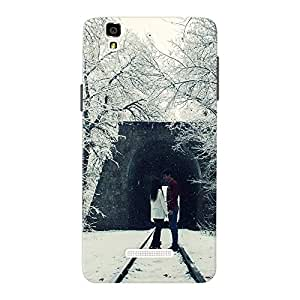 Inkif Printed Designer Case Mobile Back Cover For Micromax Yureka Plus