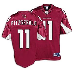 Cardinals Reebok Men's NFL '06 Premier Jersey ( sz. XXXL, Red : Fitzgerald, Larry : Cardinals )