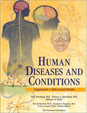 Human Diseases And Conditions: Behavioral Health, Supplement 1