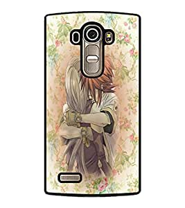 PrintDhaba Couple D-3710 Back Case Cover for LG G4 (Multi-Coloured)