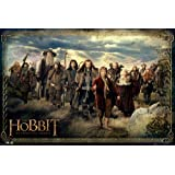 """The Hobbit: An Unexpected Journey - Movie Poster (The Cast) (Size: 36"""" x 24"""")"""