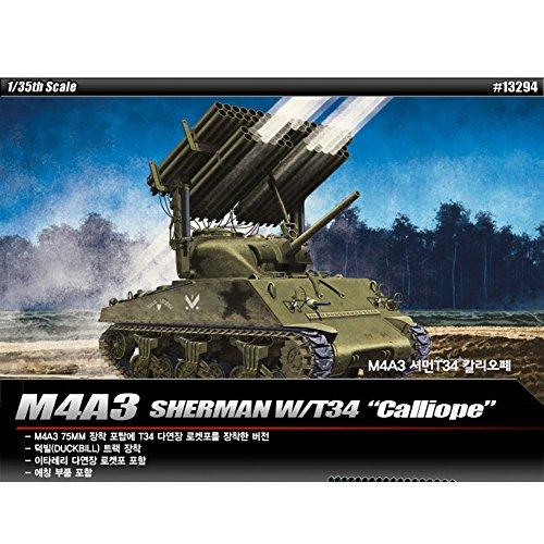 Academy 13294 M4A3 SHERMAN W/T34