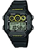 Casio Herren-Armbanduhr  Digital Quarz Resin AE-1300WH-1AVEF