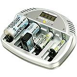 """Ansmann - Ladeger�t Powerline 5 LCD +12V KFZ Adaptervon """"Ansmann"""""""