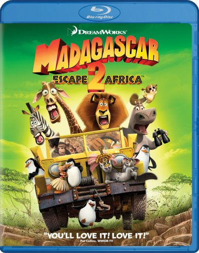 Мадагаскар 2 / Madagascar: Escape 2 Africa (2008) BDRip 720p