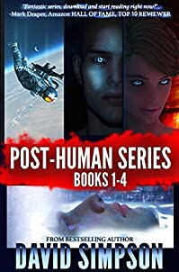 (FREE on 1/19) Post-human Series Books 1-4 by David Simpson - http://eBooksHabit.com