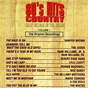 Great Records Of The Decade: 80's Hits - Country