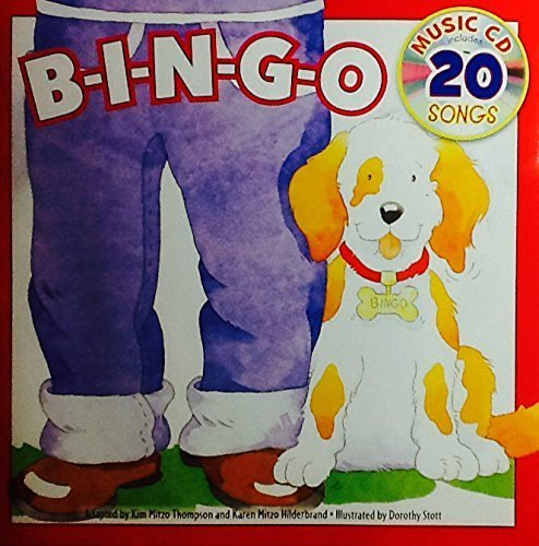 B I N G O ~ Sing-Along Book & Music Cd with 20 Songs Bingo B-I-N-G-O by Landoll