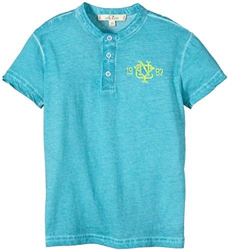 LTB Jeans Jungen T-Shirt GIRAJAD T/S, Gr. 176 (Herstellergröße: 15-16 Jahre), Mehrfarbig (WATERFALL GREEN 6687)