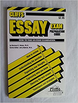Essay exam preparation