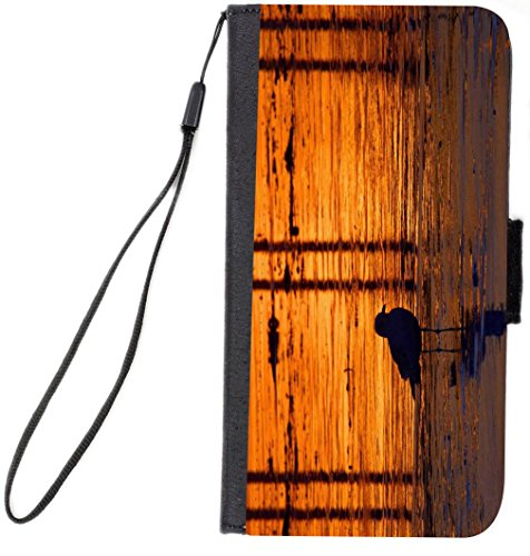 UKBK-Duck-Silhouette-by-Water-Design-iPhone-6-Plus-6s-Plus-Premium-PU-Leather-Wallet-Flip-Case-with-Kickstand-and-Magnetic-Flap-for-iPhone-6-Plus-6s-Plus