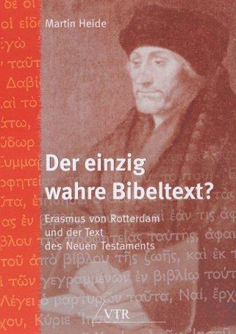 Der einzig wahre Bibeltext? von Joachim Schmitsdorf