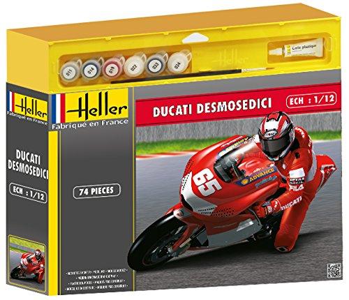 Heller - 50912 - Maquette - Ducati Desmosedici Loris Capirossi - Echelle 1:12