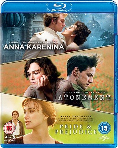 Anna Karenina / Pride & Prejudice / Atonement (Triple Pack) [Blu-ray]