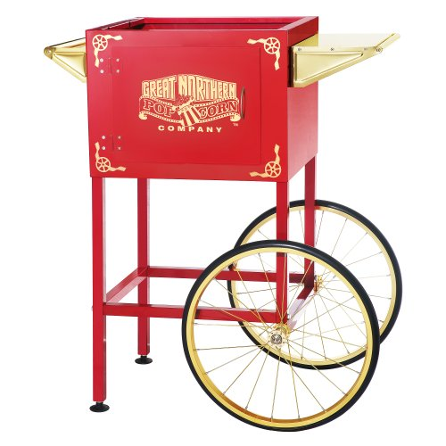 Red Replacement Cart for Larger Roosevelt Style Great Northern Popcorn Machines (Great Northern Replacement Kettle compare prices)