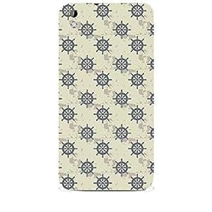 Skin4gadgets NAUTICAL PRINT PATTERN 16 Phone Skin for HTC DESIRE 816 W