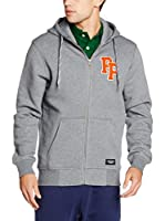 Peak Performance Sudadera con Cierre Sweat Zip (Gris Jaspeado)