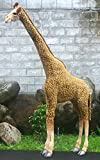 Large Life Size Standing Giraffe Plush Stuffed Animal