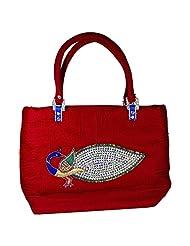 Arisha Kreation Co Big Women's Handbag (Red )