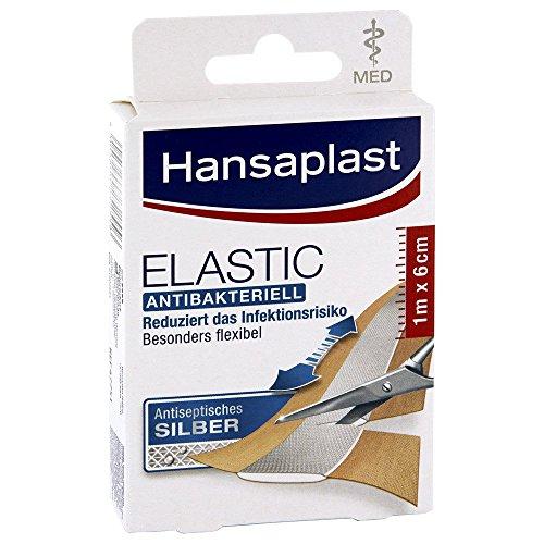Hansaplast med Elastic 1mx6cm Abschnitte 10 stk