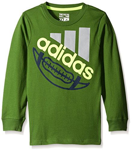 adidas Boys Basic Long Sleeve Tee Shirt